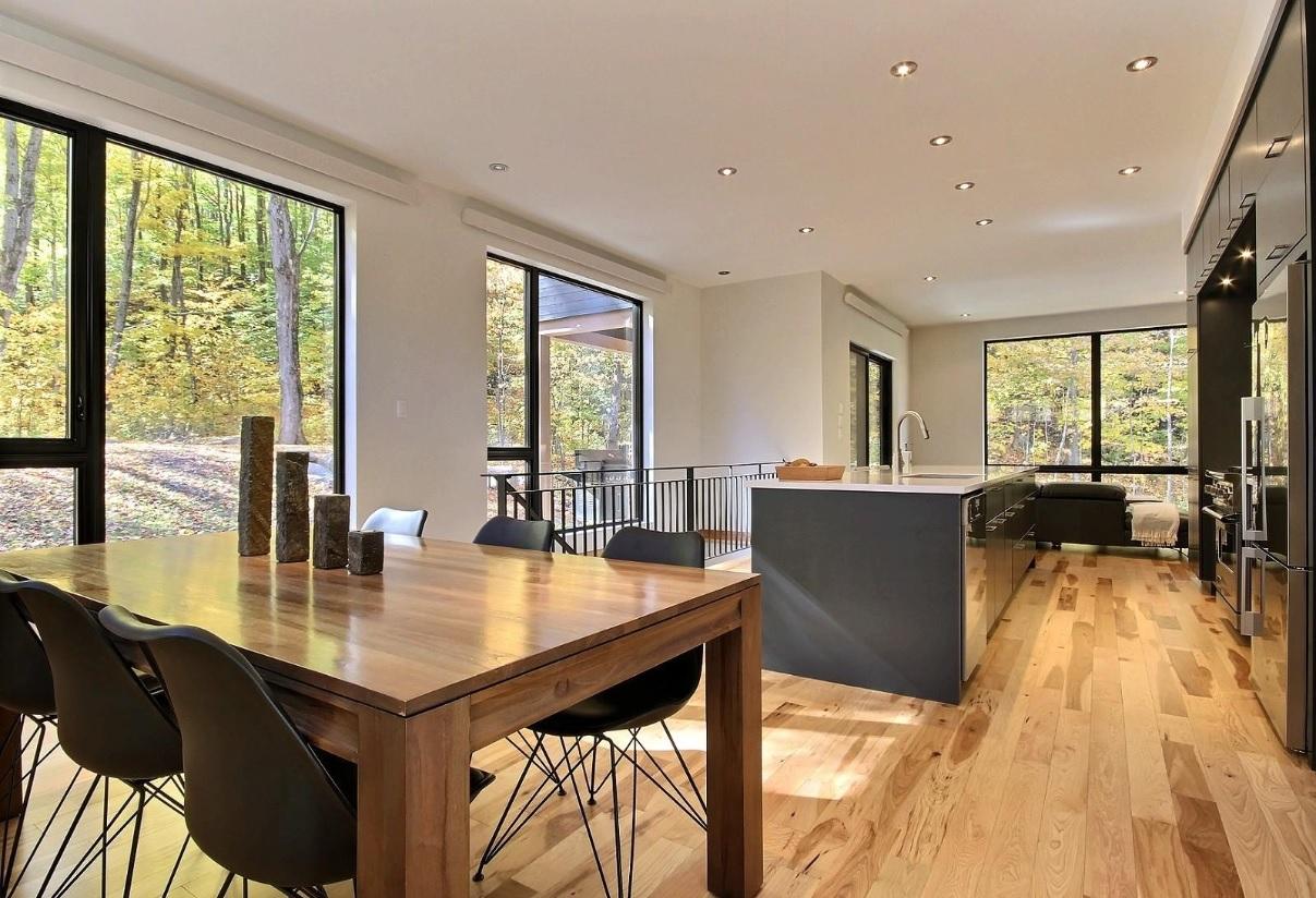 fenetre maison contemporaine. Black Bedroom Furniture Sets. Home Design Ideas